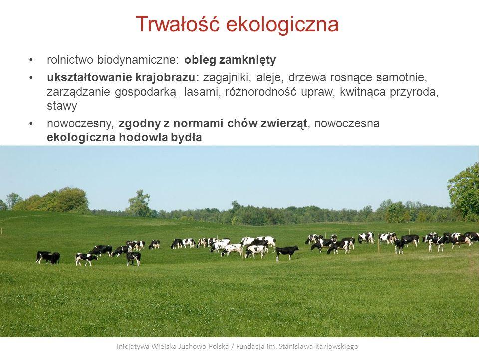 Trwałość ekologiczna rolnictwo biodynamiczne: obieg zamknięty