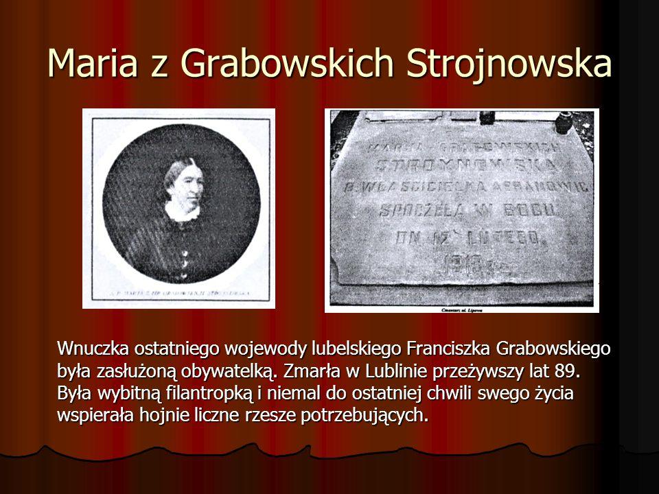 Maria z Grabowskich Strojnowska