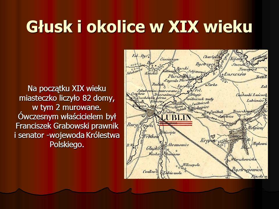 Głusk i okolice w XIX wieku