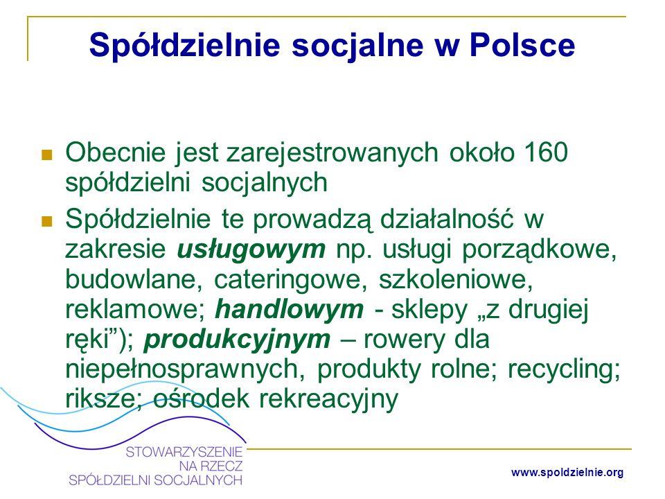 Spółdzielnie socjalne w Polsce