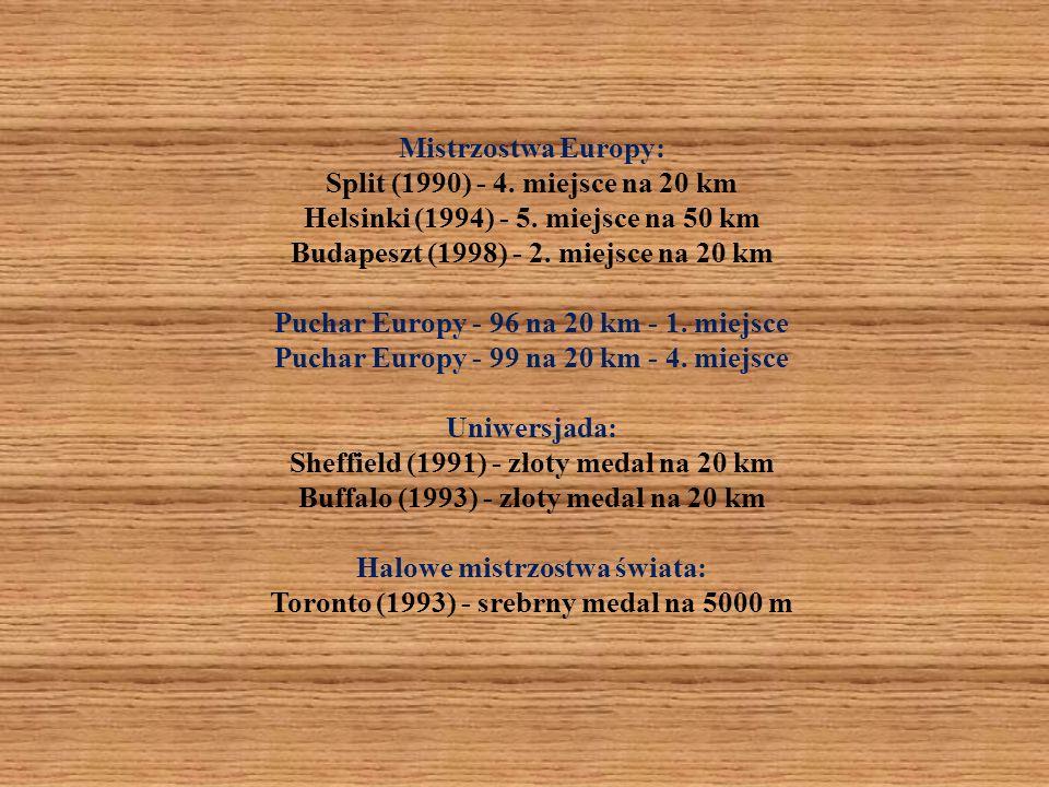 Mistrzostwa Europy: Split (1990) - 4