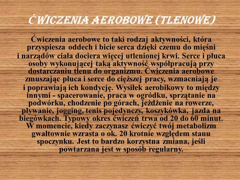 Ćwiczenia aerobowe (tlenowe)