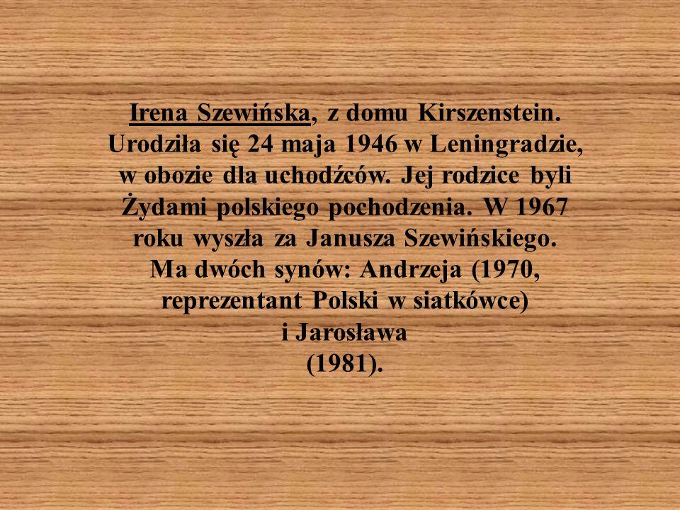 Irena Szewińska, z domu Kirszenstein
