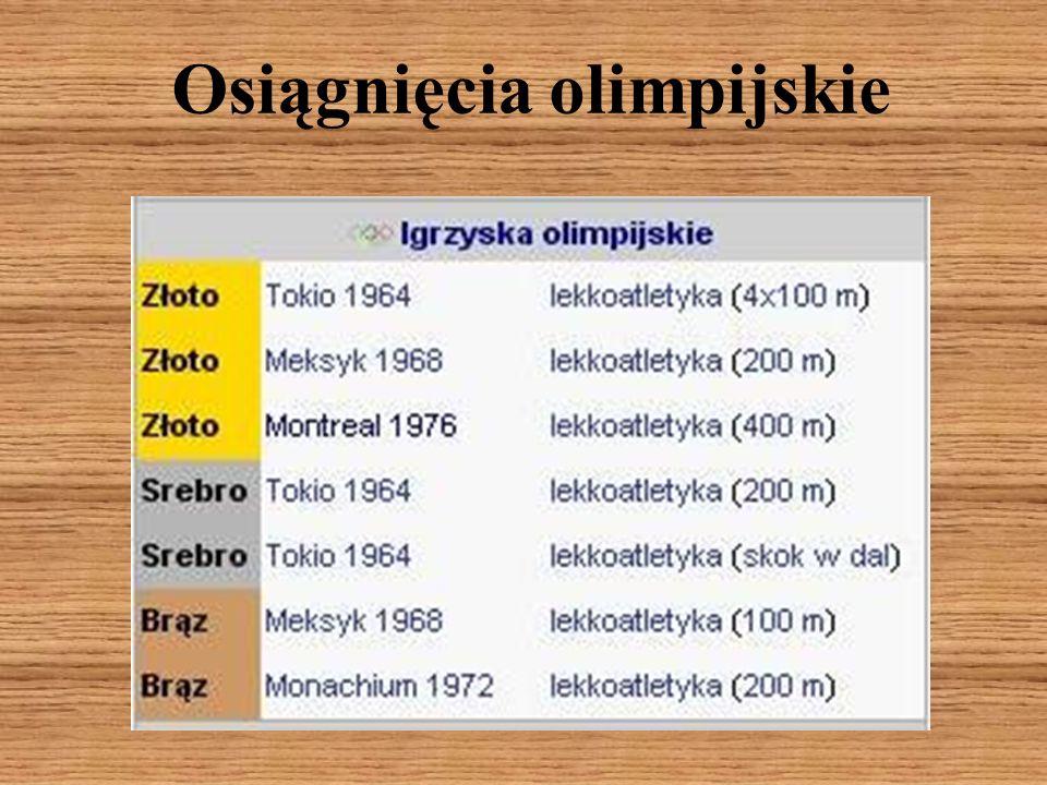 Osiągnięcia olimpijskie