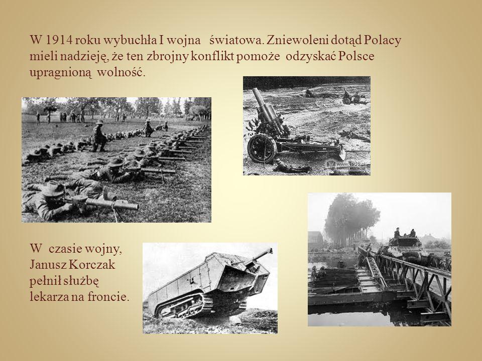 W 1914 roku wybuchła I wojna światowa. Zniewoleni dotąd Polacy