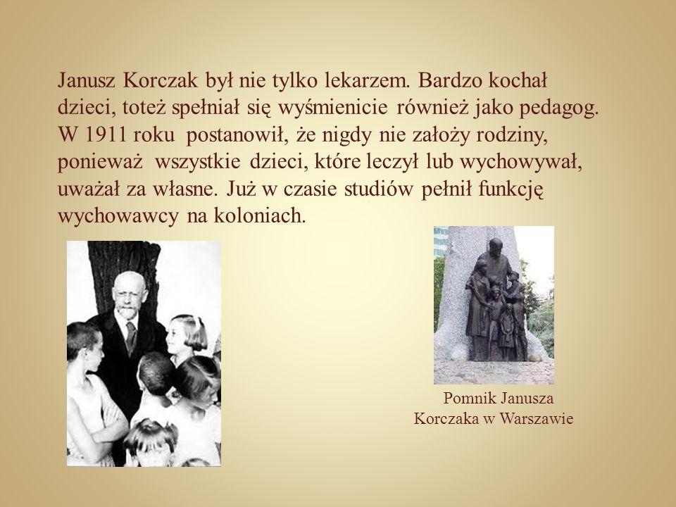 Janusz Korczak był nie tylko lekarzem