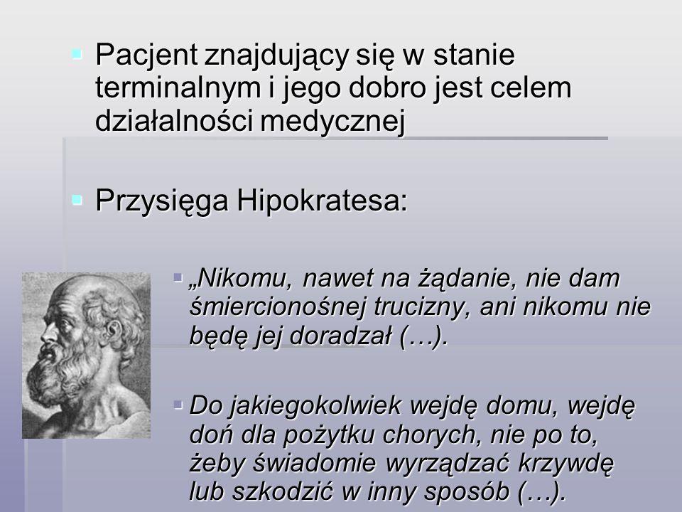 Przysięga Hipokratesa: