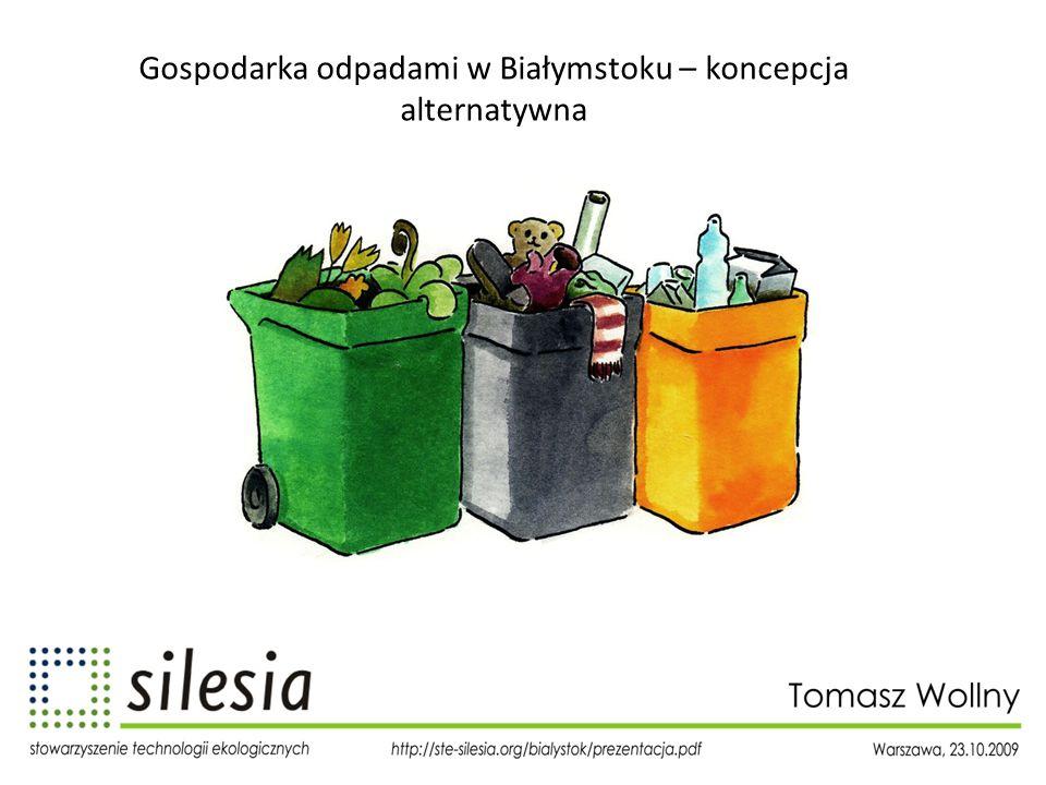Gospodarka odpadami w Białymstoku – koncepcja alternatywna