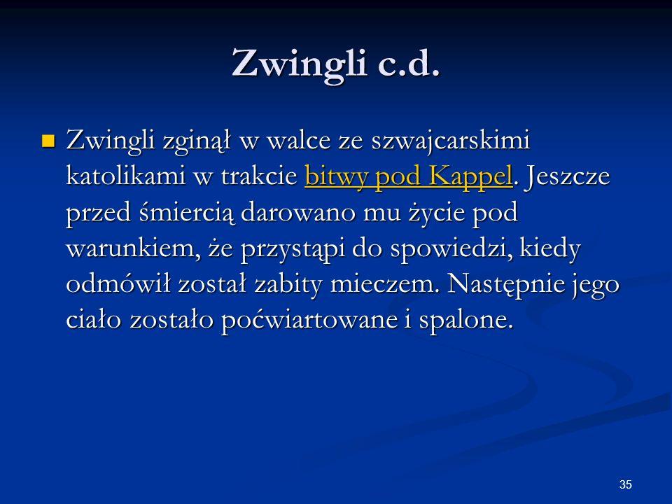 Zwingli c.d.