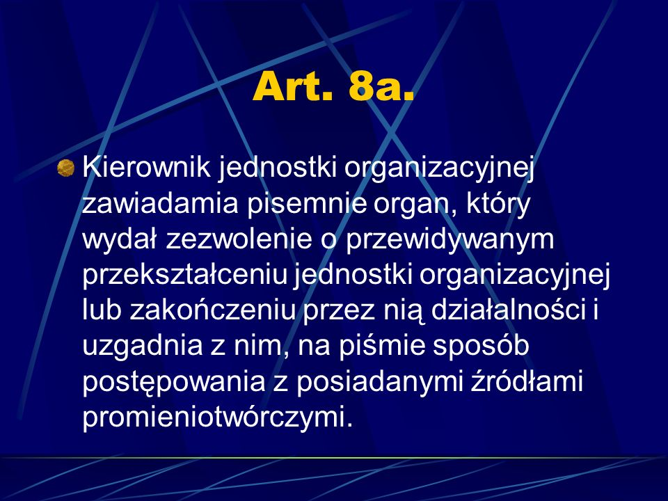 Art. 8a.