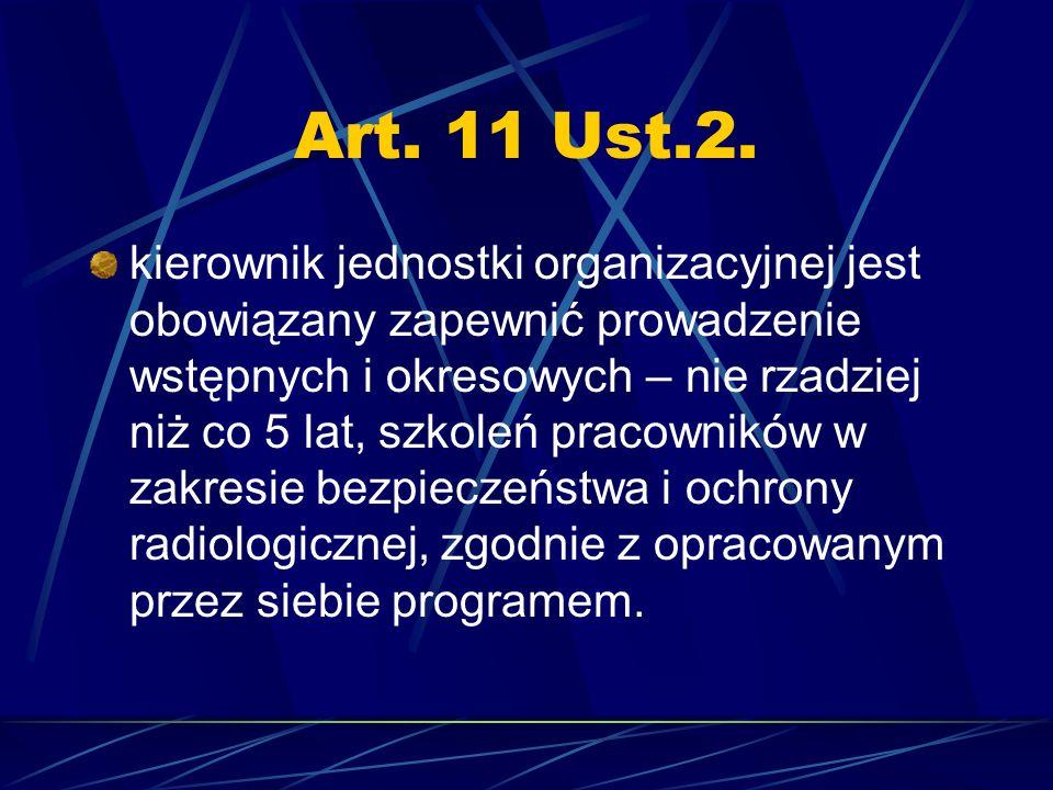 Art. 11 Ust.2.