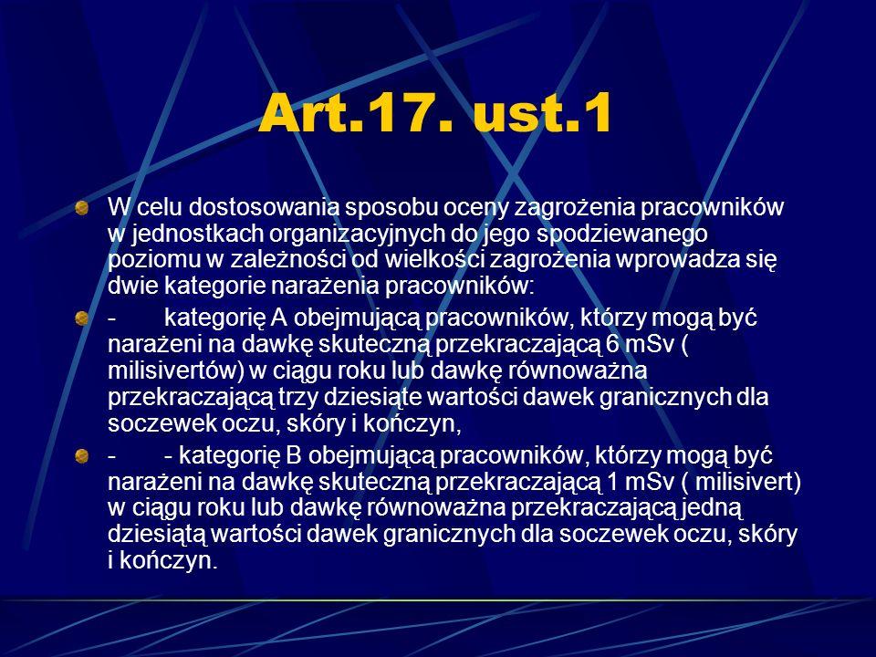 Art.17. ust.1