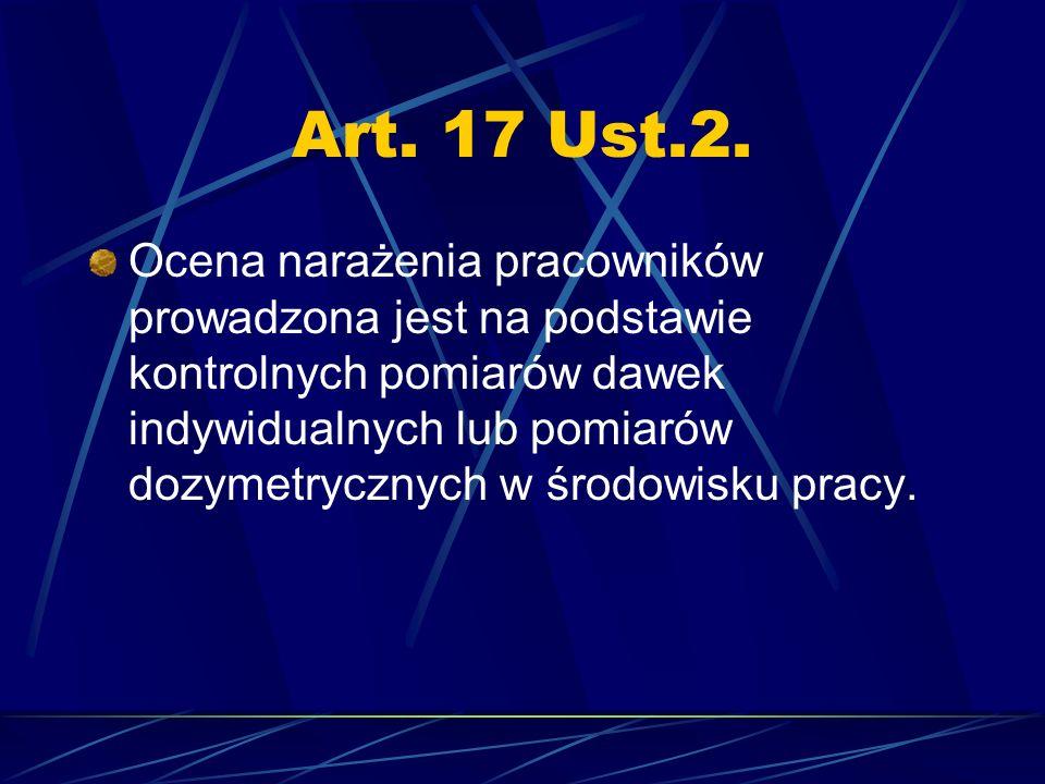 Art. 17 Ust.2.