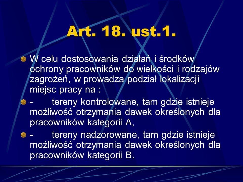 Art. 18. ust.1.