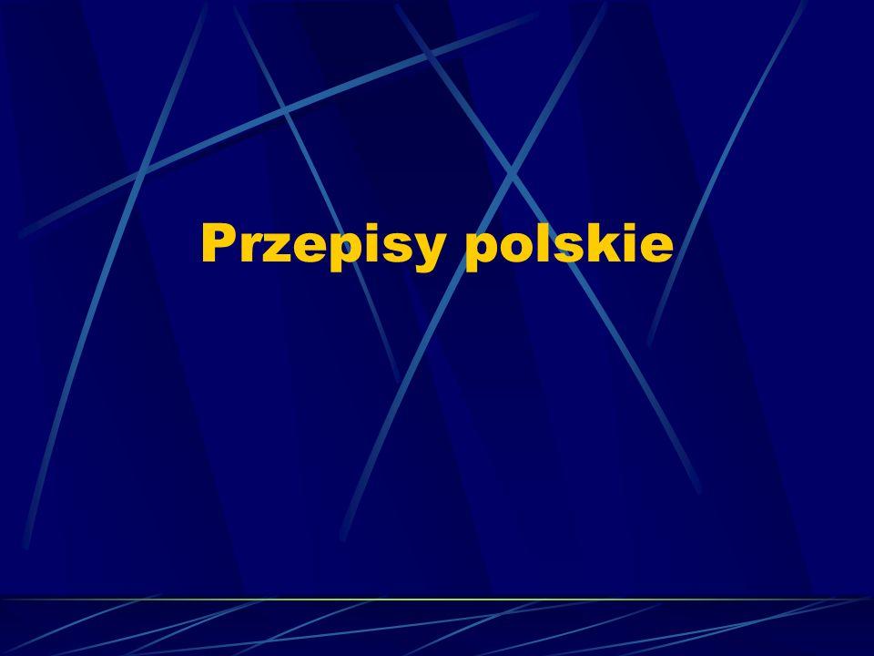 Przepisy polskie