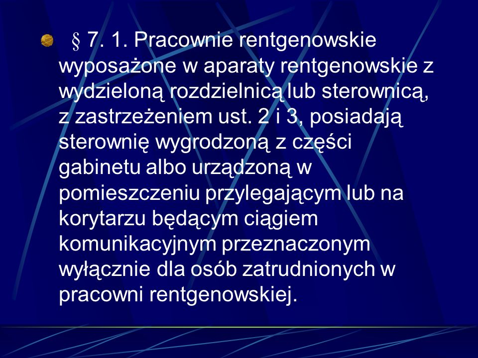 § 7. 1.