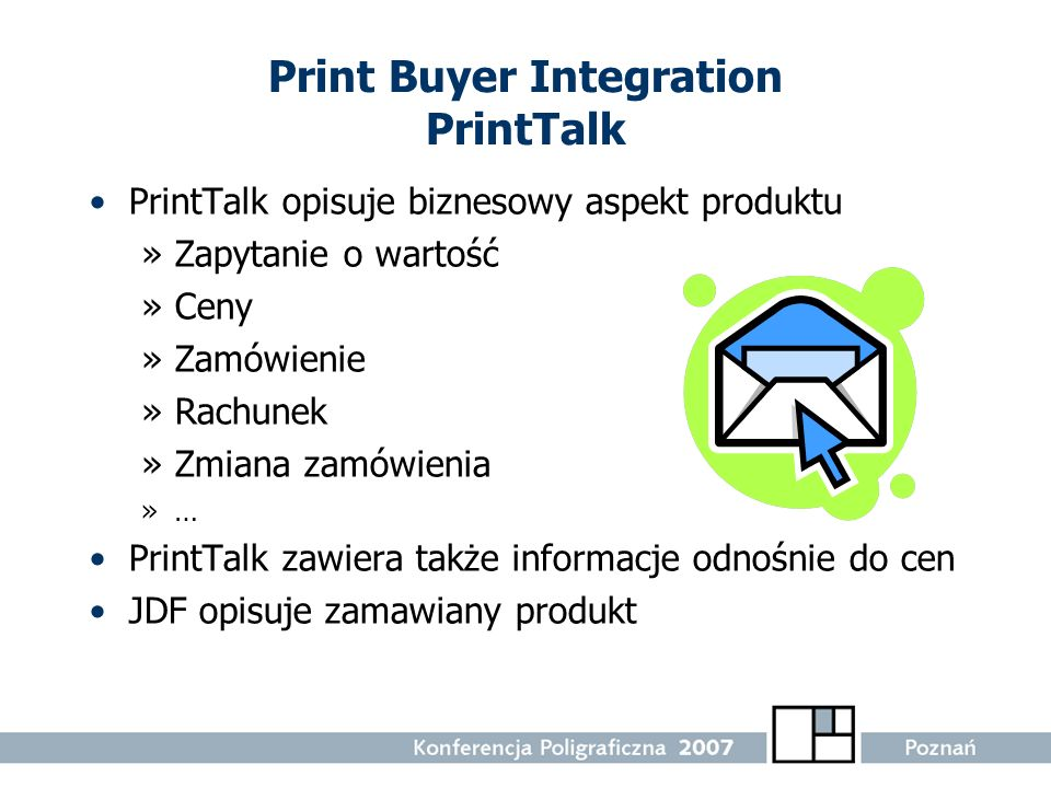 Print Buyer Integration PrintTalk