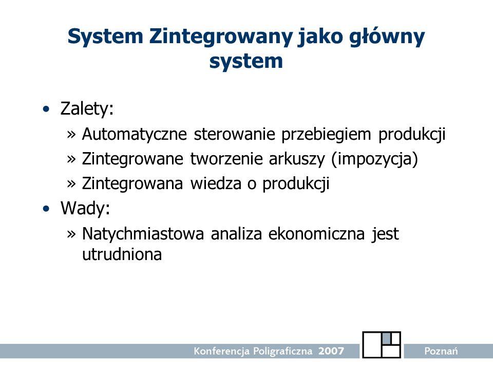 System Zintegrowany jako główny system