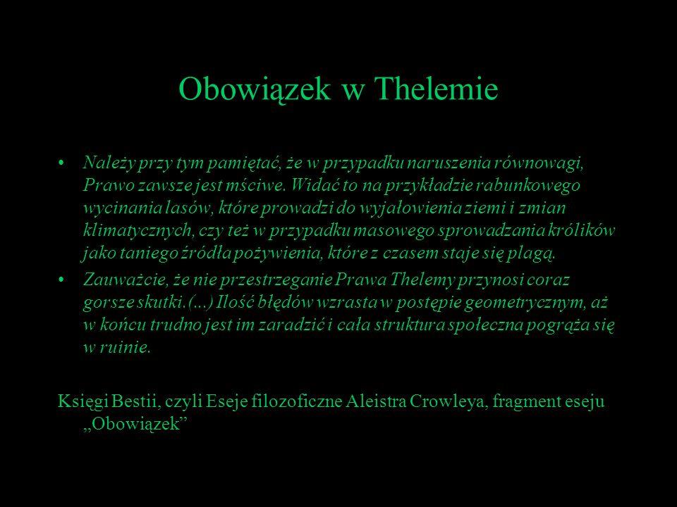 Obowiązek w Thelemie