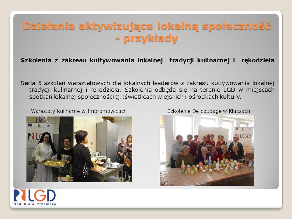 Działania aktywizujące lokalną społeczność - przykłady