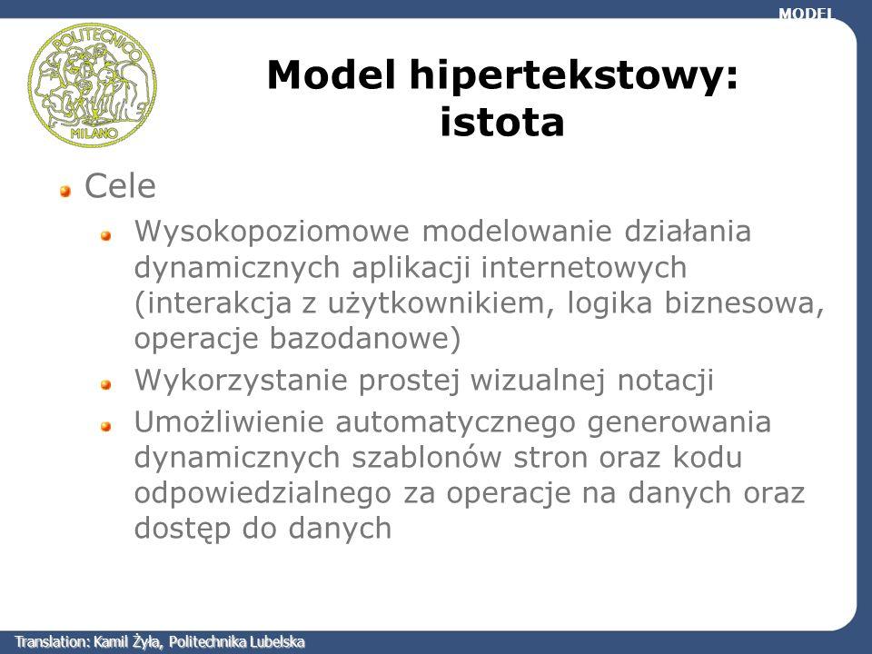 Model hipertekstowy: istota