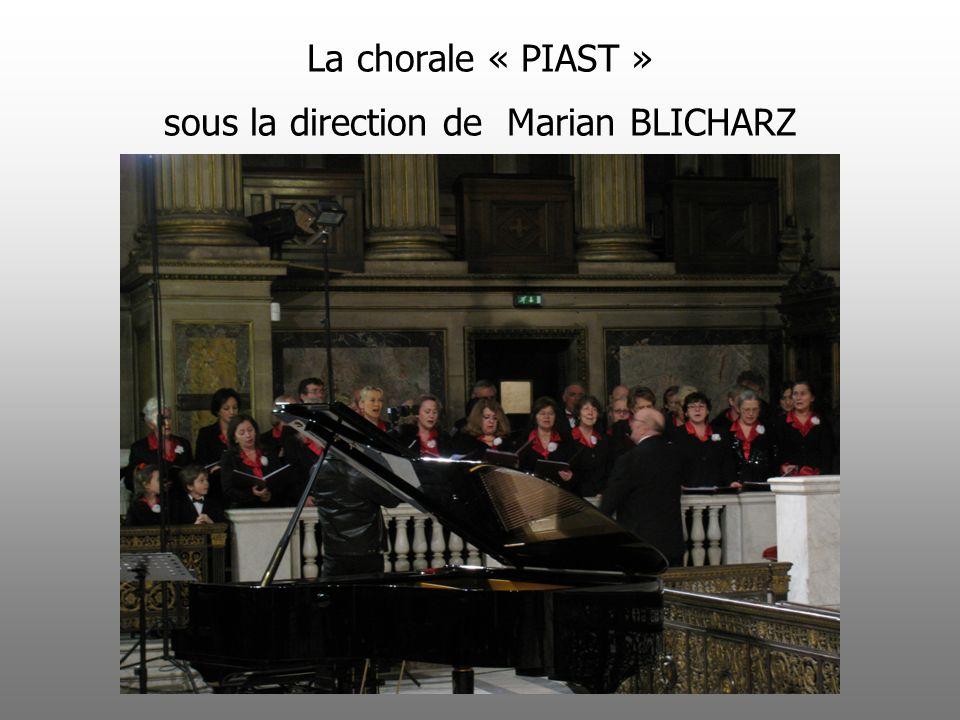 La chorale « PIAST » sous la direction de Marian BLICHARZ