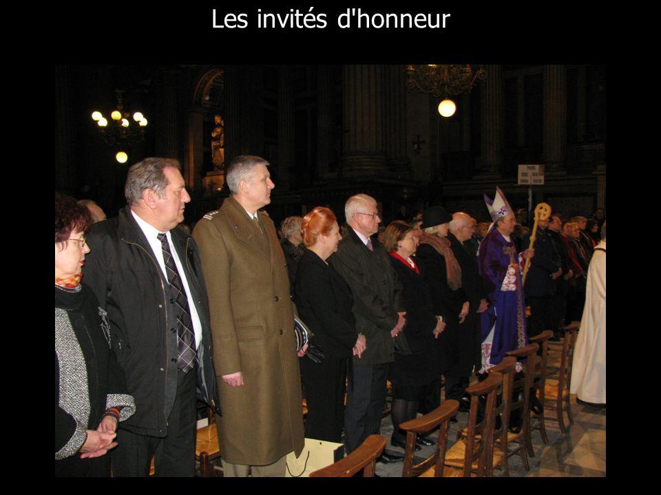 Les invités d honneur