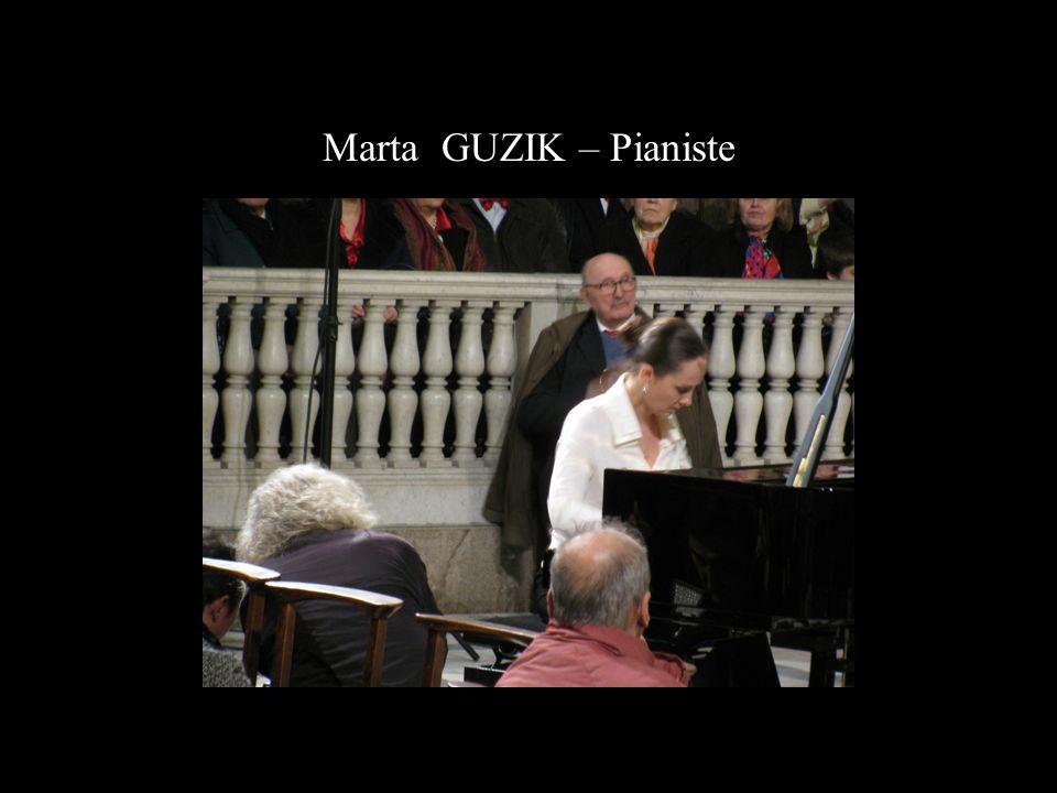 Marta GUZIK – Pianiste