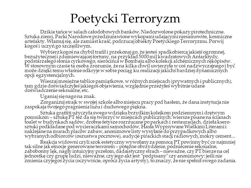 Poetycki Terroryzm