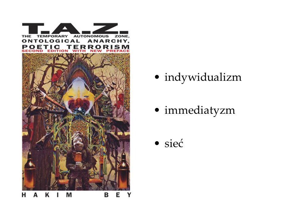 indywidualizm immediatyzm sieć