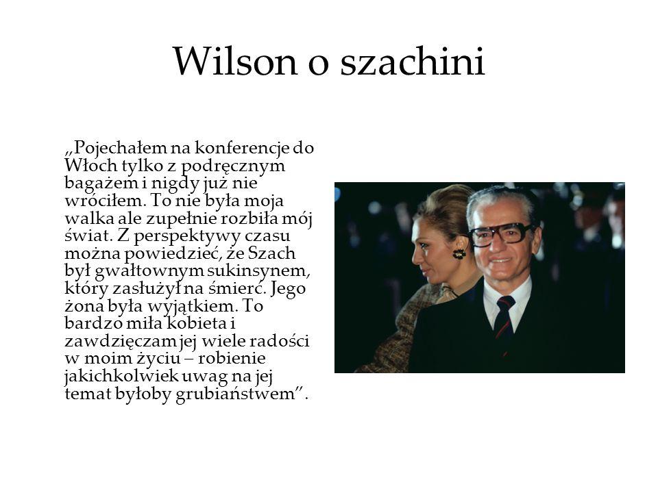 Wilson o szachini