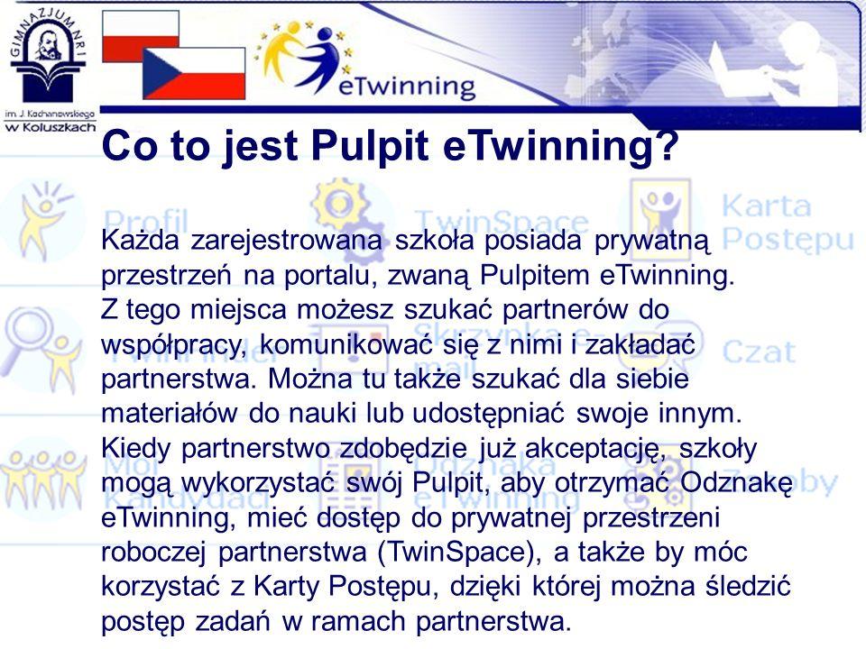 Co to jest Pulpit eTwinning