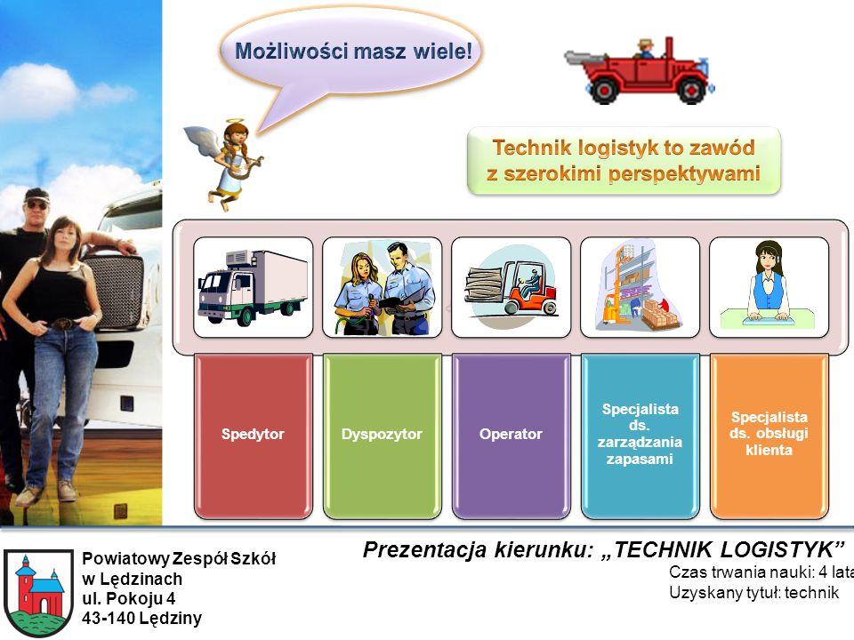 Technik logistyk to zawód z szerokimi perspektywami