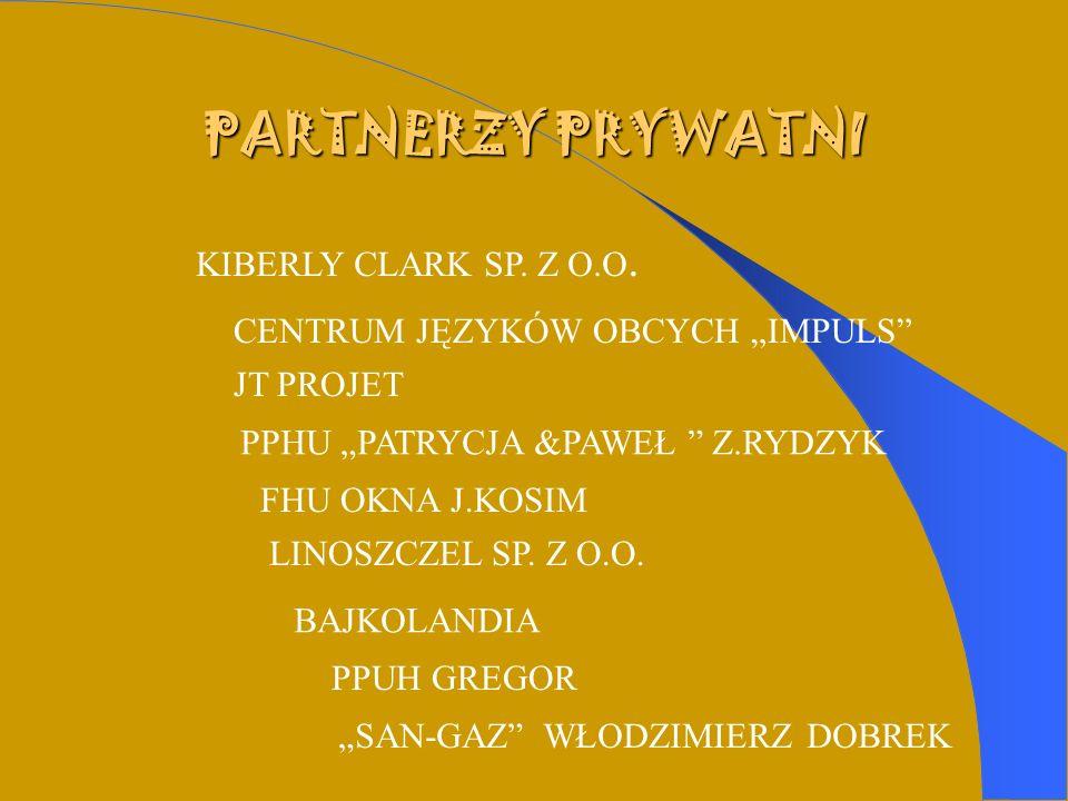 PARTNERZY PRYWATNI KIBERLY CLARK SP. Z O.O.
