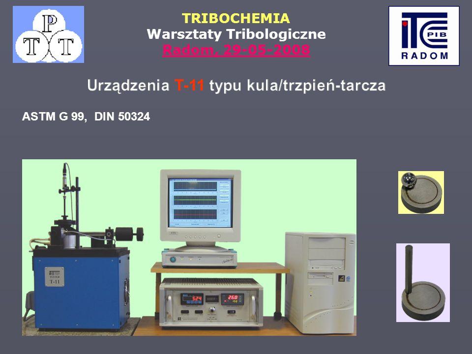 Urządzenia T-11 typu kula/trzpień-tarcza
