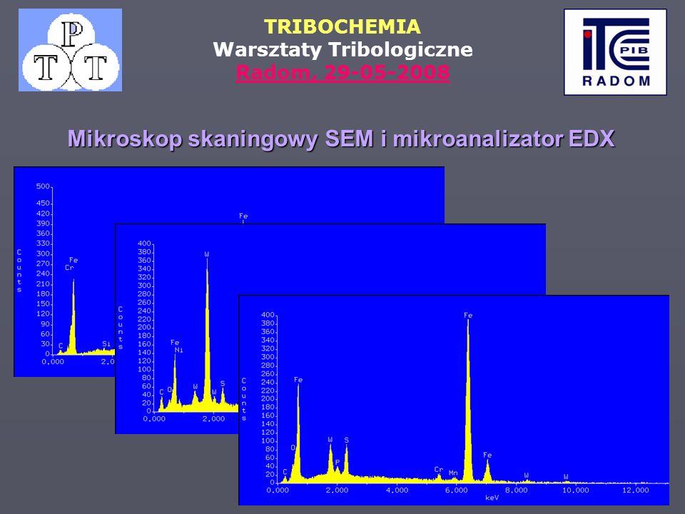 Mikroskop skaningowy SEM i mikroanalizator EDX