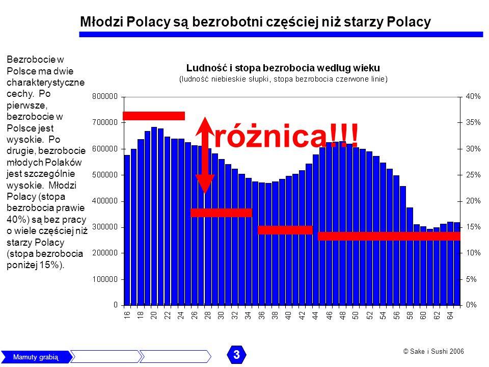 Młodzi Polacy są bezrobotni częściej niż starzy Polacy