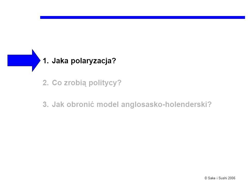 Jaka polaryzacja Co zrobią politycy Jak obronić model anglosasko-holenderski