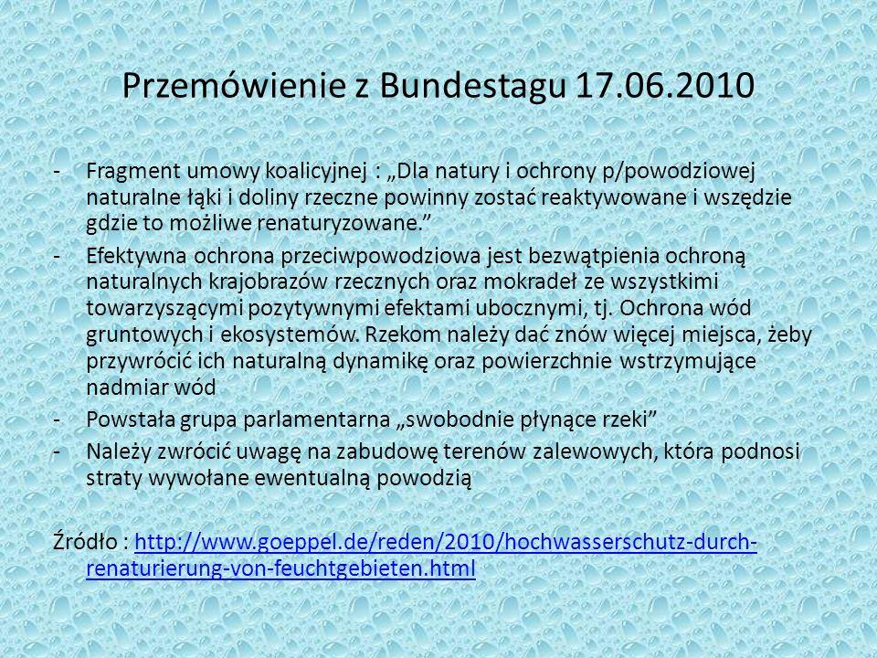 Przemówienie z Bundestagu 17.06.2010