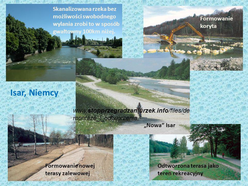Skanalizowana rzeka bez możliwości swobodnego wylania zrobi to w sposób gwałtowny 100km niżej.
