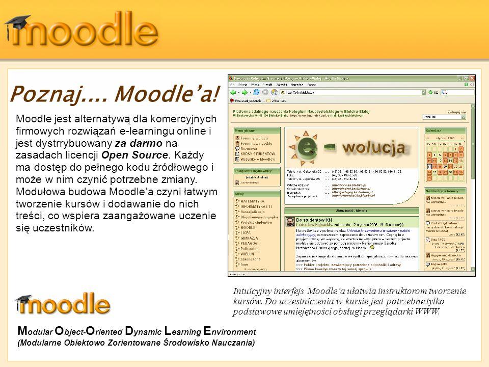 Poznaj.... Moodle'a!