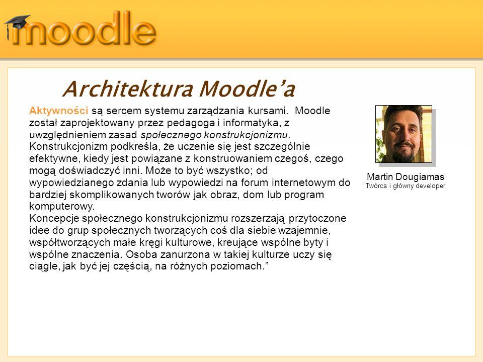 Architektura Moodle'a