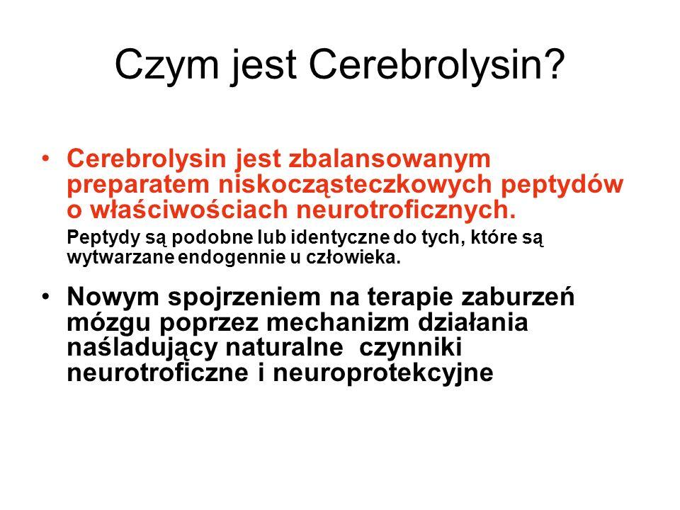 Czym jest Cerebrolysin