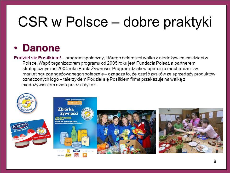 CSR w Polsce – dobre praktyki