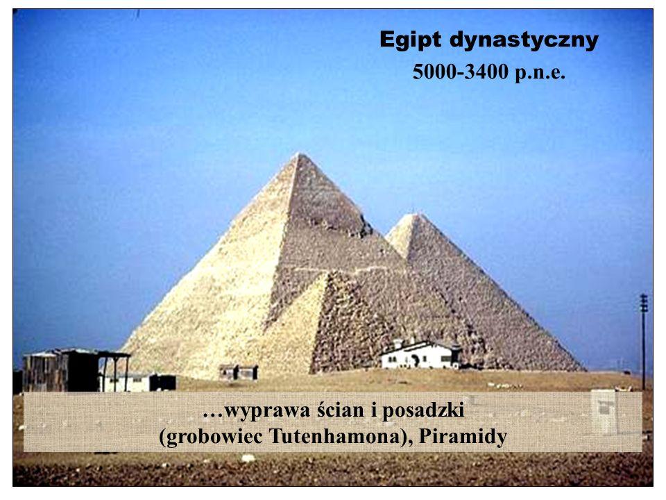 …wyprawa ścian i posadzki (grobowiec Tutenhamona), Piramidy