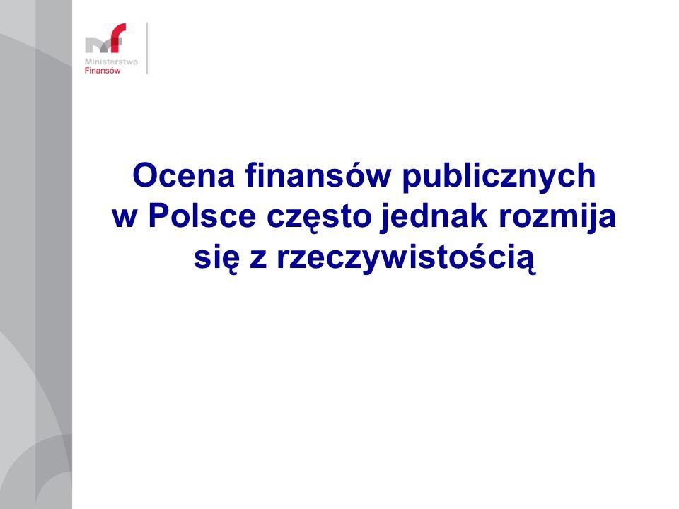 Ocena finansów publicznych