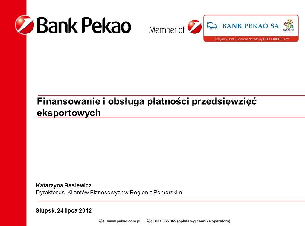 Finansowanie i obsługa płatności przedsięwzięć eksportowych