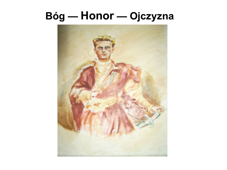 Bóg — Honor — Ojczyzna