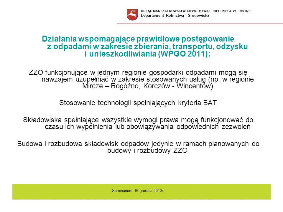 Stosowanie technologii spełniających kryteria BAT