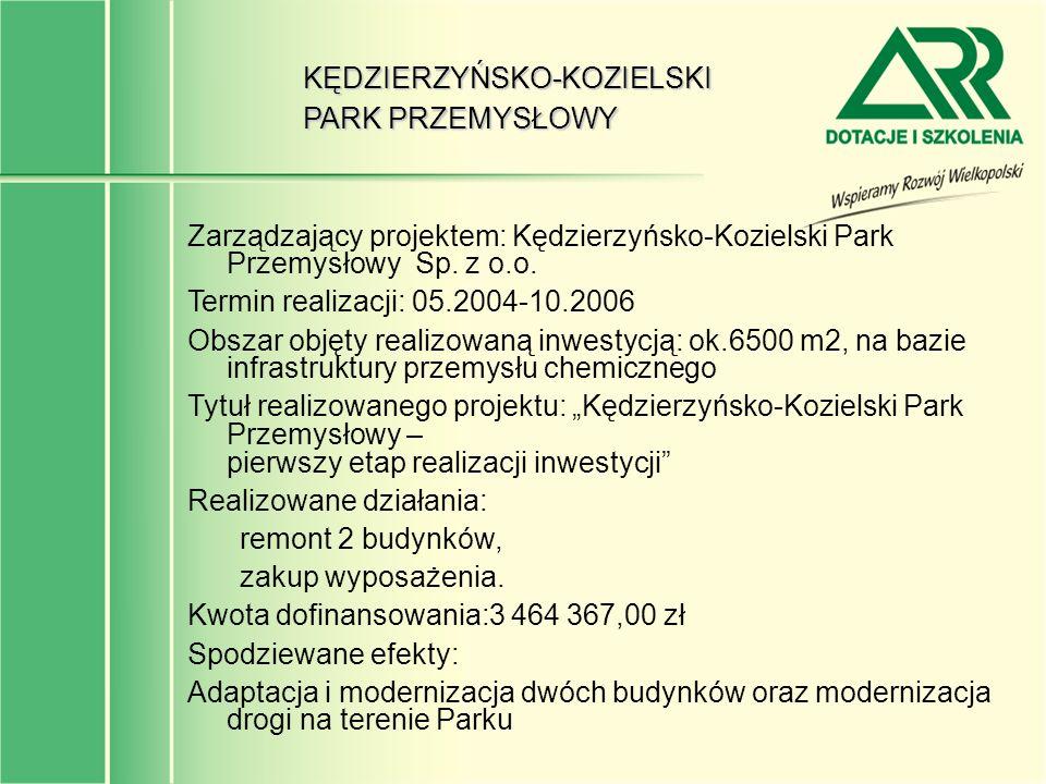 KĘDZIERZYŃSKO-KOZIELSKI